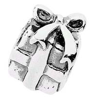 Elemento gift box in argento.