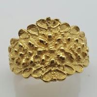 Fede Sarda in argento dorato.