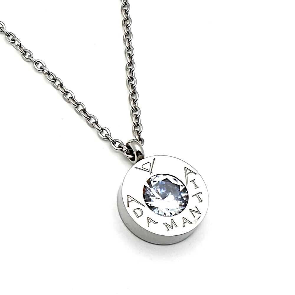 Necklace in acciaio.