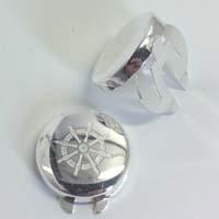 Copribottoni in argento.