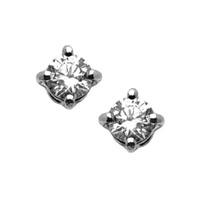 Orecchini griff con diamanti naturali.