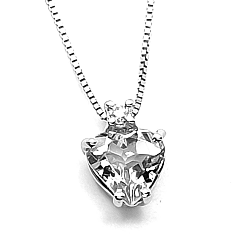 Pendente DHM con diamanti.