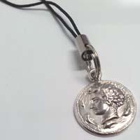 Charms per telefono in argento raffigurante l'Aretusa.